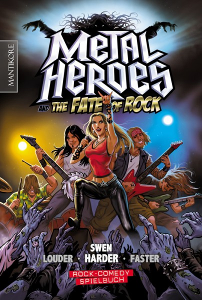 Swen Harder - Rock Comedy: Metal Heroes - and the Fate of Rock