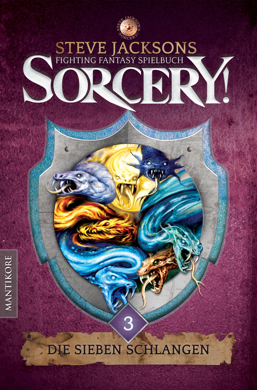 Die Abenteuer gehen weiter – mit DIE SIEBEN SCHLANGEN ist nun der dritte Teil der legendären Spielbuchreihe SORCERY erschienen
