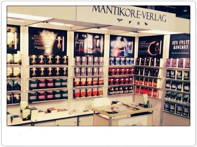 Der Mantikore-Verlag auf der Frankfurter Buchmesse